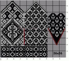 mittens wanten a. Knitting Charts, Knitting Stitches, Knitting Designs, Knitting Needles, Hand Knitting, Knitting Patterns, Stitch Patterns, Knitted Mittens Pattern, Knit Mittens