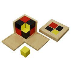 Algebraic Binomial Cube | KidAdvance.com