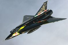 Saab J-35 Draken Knight Military Gear, Military Aircraft, Fighter Aircraft, Fighter Jets, Saab 35 Draken, Jas 39 Gripen, Swedish Air Force, German Submarines, Aircraft Pictures