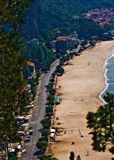 Beach of Incumu (Bartin) - Holiday Recommendation Beautiful Places In The World, Beautiful Places To Visit, Places Around The World, Around The Worlds, Visit Turkey, Turkey Photos, Holiday Places, Sky Sea, Turkey Travel