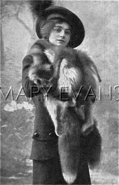 *MARY MARVIN ~ was onboard the Titanic with her husband, Daniel Marvin, returning to New York from their honeymoon trip. Her husband, Daniel, nineteen years of age sadly died, but she survived the disaster. © Illustrated London News Ltd/Mary Evans