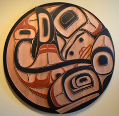 Phil Gray - Whale Panel -$10,000 Carvings at the Spirit Gallery : Horseshoe Bay, West Vancouver