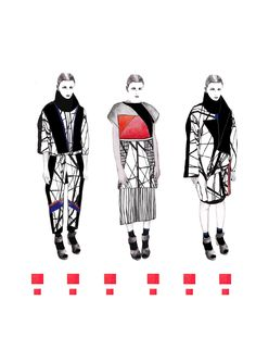 ISSUU - WESTMINSTERFASHION Gina Atkinson portfolio by WESTMINSTERFASHION Fashion Books, Fashion Art, Editorial Fashion, Fashion Sketchbook, Fashion Sketches, Fashion Design Template, Fashion Design Portfolio, Student Fashion, Fashion Painting