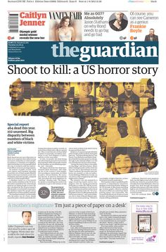 The Guardian (London) for June 2, 2015, via Today's Front Pages | Newseum #newsdesign #newspapers