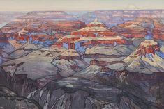 Grand Canyon by Hiroshi Yoshida