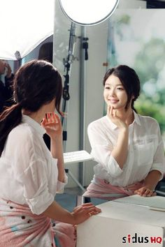 Kim Yoo Jung and Lee Jong Suk are adorable as they flaunt their flawless complexion for 'Skin Food' CF   allkpop.com