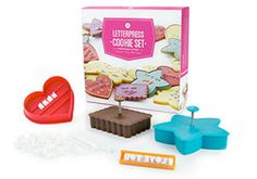 Got something special to share? With the Letterpress Cookie set, you can put your thoughts into quirky cookies. The Oprah Magazine New Cooking, Vegetarian Cooking, Le Creuset Stoneware, Cooking Courses, Kitchen Must Haves, How To Cook Quinoa, Homemade Cakes, I Love Food, Beautiful Cakes