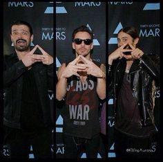 Triad - 30 Seconds To Mars boys