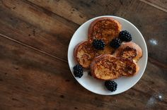 """Brûléed French Toast • """"I think I finally understand the fuss about French toast: this was both crispy and soft, creamy and spicy, rich and light. It has gorgeous balance."""" • Poires au Chocolat, http://pinterest.com/poireschocolat/"""