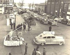 Bemidji--Late 1940s--4th Street, looking East