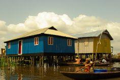 Village lacustre de Ganvié #Benin