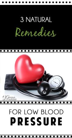 There is so much information out there about high blood pressure, but what if, like me you suffer from low blood pressure? Today I'm sharing what's working for me to help to remedy my low blood pressure and get my blood pressure normal again. http://www.greenthickies.com/3-natural-remedies-low-blood-pressure/