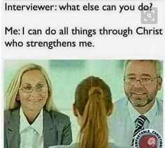 Awesome selection of hilarious and funny Christian memes! If you like funny religious memes - Humor Funny Christian Memes, Christian Humor, Humor Mexicano, Christian Girls, Christian Life, Thug Life Meme, Bible Humor, Bible Jokes, Church Humor