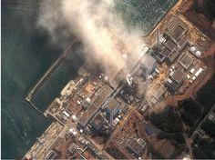 image satellite Fukushima 11 mars 2011