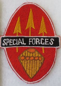 ORIGINAL Vintage PHILIPPINE SPECIAL FORCES PATCH INSIGNIA