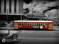 Stephanie Amber Portfolio: Photography Blog #streetcar #streetphotography #monochrome #blackandwhite #neworleans #nola
