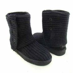 1be6a1e29cc6 UGG Classic Cardy Boots 5819 Black  88.59  Uggboots Ugg Boots Sale