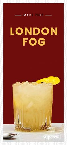 The key to a truly delicious London Fog is shaved or crushed ice. Cubed ice just won't do—it doesn't dilute the cocktail enough. The vibrant oils bring out the sweeter notes in the pastis and the citrusy notes in the gin, which should be London Dry, obviously. #gin #cocktails #cocktailrecipes #londonfog