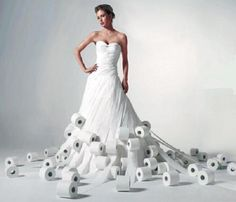 Dresses+Made+From+Recycled+Materials | 10 Weird Dresses made from Recycled Materials