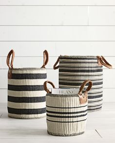 "farmhousetouches: ""(via Huntington Baskets - Serena & Lily) """