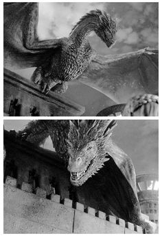 Drogon | Game of Thrones, 5x02, The House of Black and White