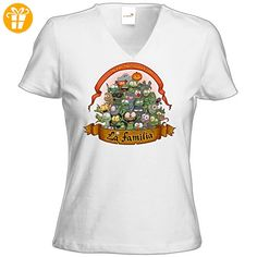 getshirts - Gronkh Official Merchandising - T-Shirt Damen V-Neck - Halloween 2016 - weiss M (*Partner-Link)
