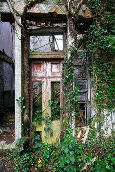 Abandon mansion, Wales, UK