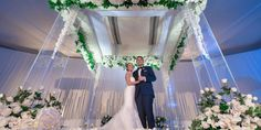 Bride And Groom Pictures, Wedding Pictures, South Florida, Miami Beach, Wedding Bride, Greenery, Destination Wedding, Backdrops, Wedding Ceremony Pictures