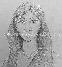 Practice at drawing a female portrait in pencil. Female Portrait, Cool Drawings, Fun Things, Pencil, Sketches, Art, Fun Stuff, Drawings, Funny Things