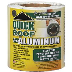 Flex Seal Has A Flexible Coating It S Perfect For Roof