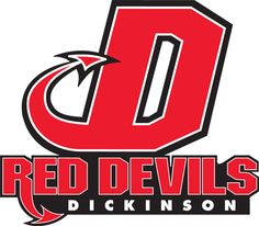 Red Devils, Dickinson College (Carlisle, Pennsylvania) Div III, Centennial Conference #RedDevils #CarlislePennsylvania #NCAA (L9644)
