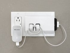 Walhub Keeper Rocker Hooks and Electrical Outlet Plate Cover | Remodelista