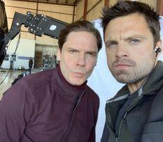 Sebastian Stan, Daniel Bruhl, Man Thing Marvel, Insta Story, Winter Soldier, It Cast, Behind The Scenes, Men, See Again