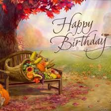 Image result for happy fall birthday