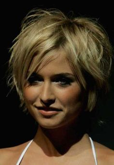 20 Chic Layered Short Haircuts | http://www.short-hairstyles.co/20-chic-layered-short-haircuts.html