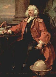 Captain Thomas Coram by William Hogarth, 1740, London Foundling Museum.