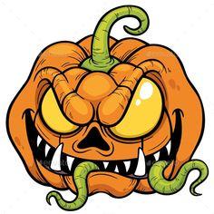 Vector illustration of Cartoon Halloween pumpkin Vektorillustration des Karikatur-Halloween-Kürbises Halloween Vector, Halloween Tags, Halloween Cartoons, Halloween Drawings, Halloween Pictures, Halloween Pumpkins, Halloween 2019, Pumpkin Png, Pumpkin Vector