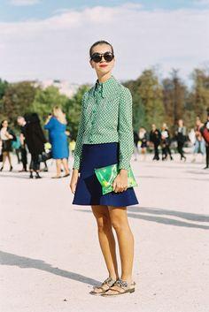 Paris Fashion Week SS 2013....Natalie