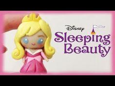 Disney Sleeping Beauty Princess Aurora Chibi Clay Tutorial - YouTube