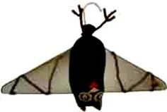 Wire Coat Hanger Crafts, there's this cute bat, and an even cuter spider, as well as many other wire hanger craft ideas.