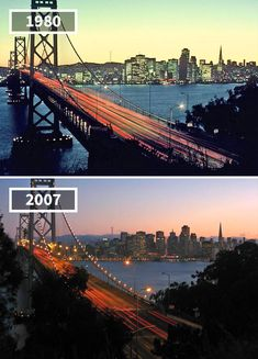 Rare Pics Showing How The World Has Changed Over Time, Here are the amazing and Rare Photos of the world then and now, Check all the pics Then And Now Pictures, Cool Pictures, Eiffel Tower Tour, Saint Mathieu, Saint Lawrence River, Beautiful Roads, San Francisco City, Mont Saint Michel, Historical Monuments