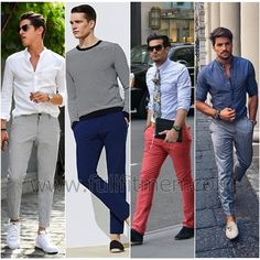 Facebook Twitter Google+ Pinterest StumbleUponChinos for men is basically an alternative for those that find jeans to be too irritating during the summer heat. Find out why chinos need to be present in your closet! If you aren't an owner of at least one pair of chinos, you need to purchase them now! Chinos are...