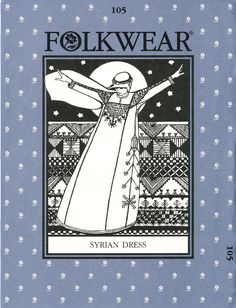 Patterns - Folkwear #105 Syrian Dress