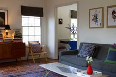 Paint colors that match this Apartment Therapy photo: SW 6271 Expressive Plum, SW 2838 Polished Mahogany, SW 7025 Backdrop, SW 2739 Charcoal Blue, SW 6254 Lazy Gray