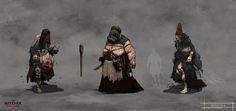 The Witcher 3 Wild Hunt witches new by Scratcherpen on DeviantArt