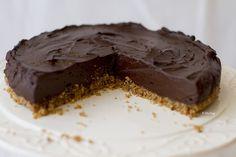 Raw Vegan Chocolate Ganache Cake from Zizi's Adventures