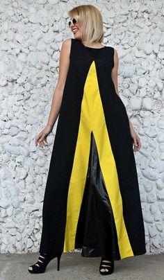 Extravagant Black Dress TDK235 Flared Cotton Dress with https://www.etsy.com/listing/515799975/extravagant-black-dress-tdk235-flared?utm_campaign=crowdfire&utm_content=crowdfire&utm_medium=social&utm_source=pinterest