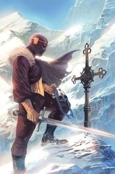 Captain America #608 // Cover Art by Marko Djurdjevic