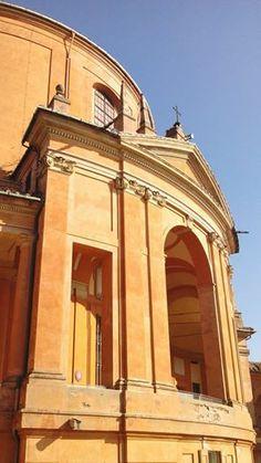 Bologna, arrivando a San Luca, foto di Claudia Beghelli