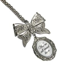 We're-all-mad-here-Alice-in-wonderland-Gothic-style-pendant